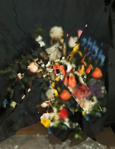 EXPLODING MIRRORS: THE PHOTOGRAPHY OF ORI GERSHT On Reflection, Material E2 (AfterJ.Brueghel the Elder)