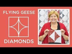 Make a Flying Geese Diamonds Quilt | Missouri Star Quilt Company - YouTube | Bloglovin'