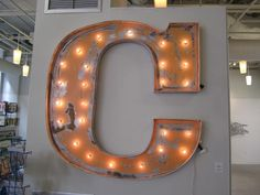 vintage replica marquee letter