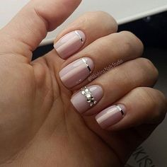 Like this but opposite so the strip forms the French manicure line