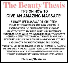 November is here, Thanksgiving is on the way, and cuddle weather is in full swing! Pull your nearest and dearest into bed for some totally necessary cuddle time. Crank the coziness up a few notches by trading tension relieving back massages. Here are some tips on how to give an amazing massage. Have the recipient ... [Read more...]
