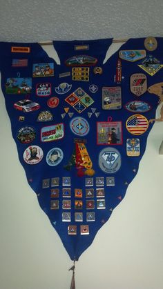 I'd love to do this for Hayden one day!  --  Bryson's Cub Scout Awards