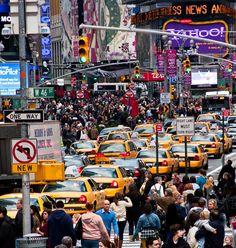 NYC - Crossroads - by John Fraissinet