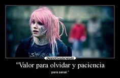 carteles olvidar sylvia tumblr valor olvidar paciencia sanar suicide room hair pink cry pain desmotivaciones