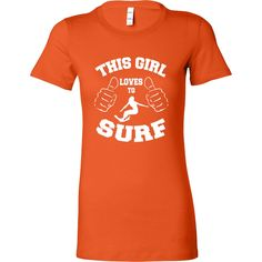 This Girl Loves to Surf T-Shirt