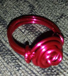 Check out this item in my Etsy shop https://www.etsy.com/listing/197584007/wire-wrapped-pink-rose-ring