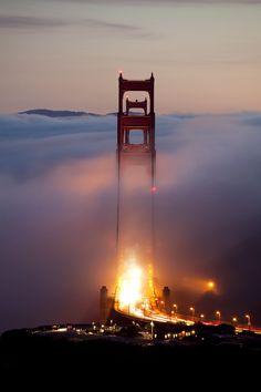 Standing Tall - Golden Gate Bridge - San Francisco - USA