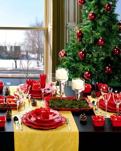 Elegant Christmas Table Decorations | 20 Elegant Christmas Table Decorating Ideas for 2013 - My Home Decor