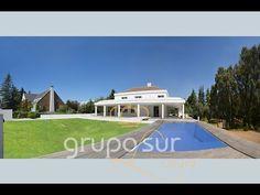 90016 GRUPOSUR. Exclusivo chalet de diseño con piscina interior y exterior en La Moraleja, Madrid - YouTube