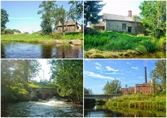 Paadimatk kaunil kuid lehkaval Purtse jõel / Boat trip on stunning but smelly Purtse river in Estonia by Minest Country Roads, Boat, Tours, River, Mansions, House Styles, Dinghy, Boats, Rivers