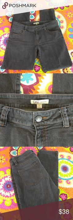 Awesome Vintage cabi Fall 2010 Bree Jean NWOT cabi ♥ Fall 2010 - Bree Jean #202 ♥ Brand NEW without tag! Fantastic skinny's are the perfect addition to your wardrobe! I have the Bree in every color they have ever been done in, hands down my fav cabi jean! Classic slimming 5 pockets style with a little stretch = heaven! ♥ Dark washed out black in color.  Fabric: 99% Cotton - 1% Spandex  Garment Care: Machine Wash - Tumble Dry  ♥ Please visit my closet again soon - lots of excellent deals on…
