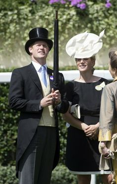 Zara Phillips - wearing Orla Kiely dress, Philip Treacy hat, along with Gucci shoes and a Diane Von Furstenberg bag. Royal Ascot 2014 - Day 1