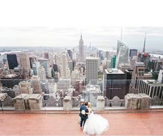 17 Reasons To Get Married In New York City #refinery29  http://www.refinery29.com/new-york-weddings#slide-3  No, seriously.