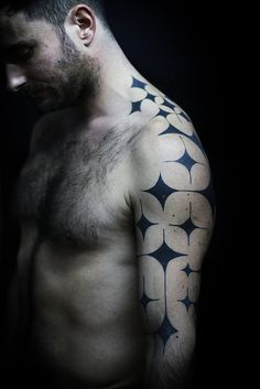 I adore the idea of shapes as a design (*see my back ;) ).  This is cool.