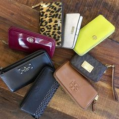 Loving all of these wallets! Shop them NOW on www.mymoshposh.com!