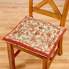 Need new chair cushions...these are cute!