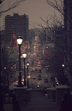 grafika city, light, and night