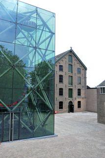 Textielmuseum Tilburg een voorbeeld van oud en nieuw gecombineerd.