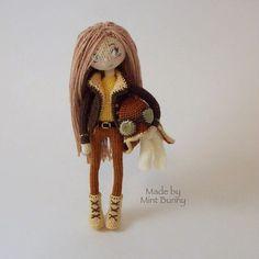 Mesmerizing Crochet an Amigurumi Rabbit Ideas. Lovely Crochet an Amigurumi Rabbit Ideas. Crochet Amigurumi, Amigurumi Patterns, Amigurumi Doll, Knit Crochet, Crochet Patterns, Knitted Dolls, Crochet Dolls, Mode Crochet, Little Doll