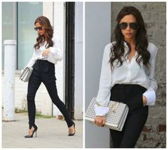 How to Wear A White Shirt - The Power Dresser