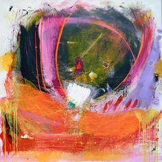 LIVSGLADJE  Original Abstract Acryllic painting on by LivsGlad, $1500.00