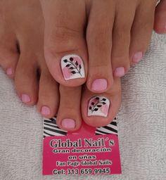 Feet Nails, Dali, Mj, Print Tattoos, Pretty Pedicures, Simple Toe Nails, Toe Nail Art, Stiletto Nails