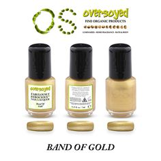 Band Of Gold Fabulously Ferocious™ Nail Lacquer – OverSoyed Fine Organic Products