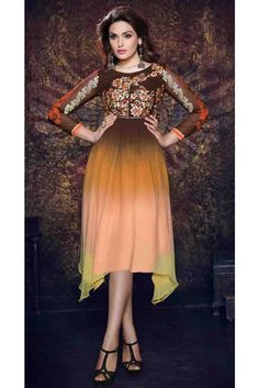 Natasha Couture - Shop with confidence from the exclusive collection of Indian Designer Women Clothing. We offer wedding lehenga, bridal lehenga, wedding sarees and anarkali suits online in India and Worldwide. Tunics Online, Dresses Online, Stylish Kurtis, Sarees Online India, Party Wear Kurtis, Latest Sarees, Online Dress Shopping, Bridal Lehenga, Festival Wear