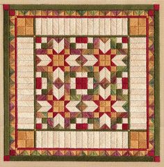 """Cherokee Star 9.5"""" x 9.5"""" on 18 ct canvas       Pattern: $12.00 - by Laura J Perin Designs"""