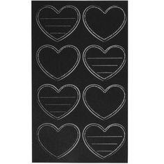 Tafelfolien-Sticker Herzen