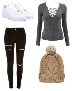 """""""Untitled #15"""" by camicollada on Polyvore featuring NIKE, River Island and Chicnova Fashion"""