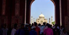 A Magia de Taj Mahal