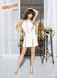2ne1's 'Falling In Love' promotional photo- BOM