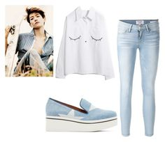 """Untitled #10"" by jiminyouhavenojams ❤ liked on Polyvore featuring Frame Denim and STELLA McCARTNEY"