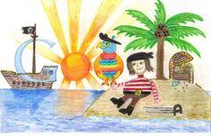 Doodle 4 Google art contest for kids