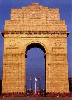 india gate, new delhi, india ... I will be here in approximately 4 months!
