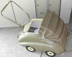 ZEITZ-Kinderwagen-Luftbereift-Bollerwagen-Deko-DDR-Puppenwagen