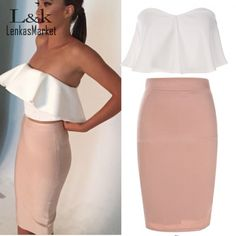 2015 Women Summer Dress Fashion Lady Sexy Strapless Backless Ruffle Off Shoulder Sleeveless Bodycon Dress S XL 30-in Dresses from Women's Clothing & Accessories on Aliexpress.com | Alibaba Group