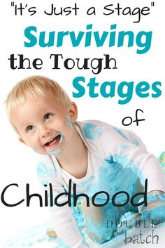 A little perspective to help you survive the tough stages of childhood. (parenting tips, baby, toddler)