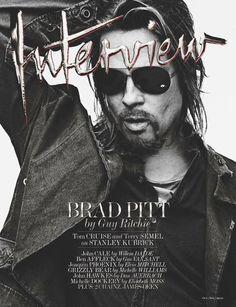 Interview October November 2012 Brad Pitt by Steven Klein