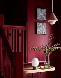 The Design Files - Introducing 'Apartment' By Sisällä Interior Design - Photo Caitlin Mills. Red Interior Design, Interior And Exterior, Interior Decorating, Decorating Ideas, Apartments Decorating, Decorating Bedrooms, Red Design, Decor Ideas, Red Interiors