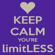 Keep CALM, You're limitLESS