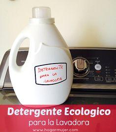 Detergente ecologico para la lavadora