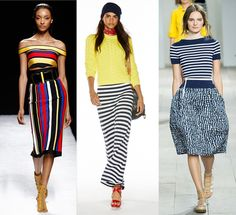 Stripes by Balmain, Polo by Ralph Lauren and Michael Kors for spring and summer 2015 7 must have trends 2015