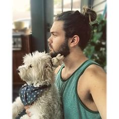 You thought man buns were the hottest internet hair trend…until now.   This #DogBun Trend Is The Cutest Thing To Happen To The Internet