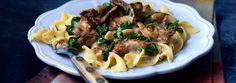 Steak & Mushroom Florentine