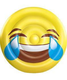 BH Inflatables: Giant Emoji Tears of Joy Inflatable Pool Float Raft, 5 Feet (Tear of Joy Emoji Pool Float), Yellow (Vinyl) Summer Pool, Summer Fun, Cool Pool Floats, Pool Rafts, Giant Inflatable, My Pool, Pool Toys, Water Toys, Tears Of Joy