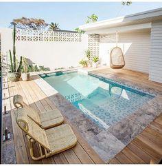 Small Swimming Pools, Small Pools, Swimming Pools Backyard, Swimming Pool Designs, Pool Landscaping, Lap Pools, Indoor Pools, Backyard Pool Designs, Small Backyard Pools