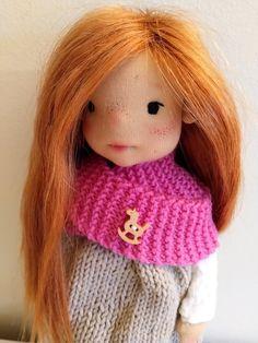 Ayla 11 inches Waldorf inspired doll natural fiber art doll | Etsy Ooak Dolls, Art Dolls, Waldorf Dolls, Steiner Waldorf, Felt Shoes, Fiber Art, Doll Clothes, Crochet Hats, Pavlova