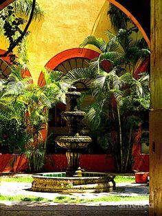 Melville Fountain Photograph